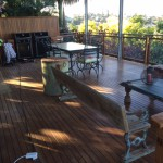 Deck and Patio: Solid Wood